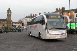 Long distances coaches stop in Thirsk